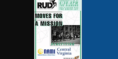 RUD Moves For A Mission - NAMI CVA Benefit tickets