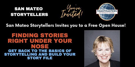 Finding Stories Right Under Your Nose tickets
