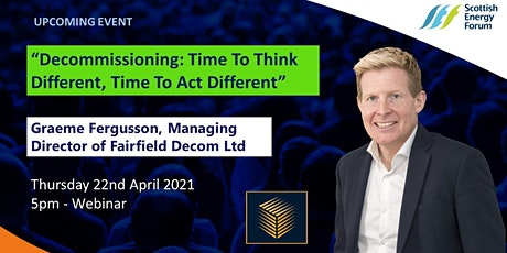 """""""Decommissioning: Time To Think Different, Time To Act Different"""" entradas"""