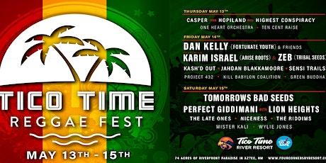 Tico Time Reggae Festival tickets