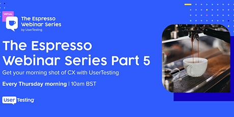 The Espresso Webinar Series tickets