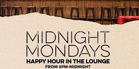 Midnight Mondays entradas