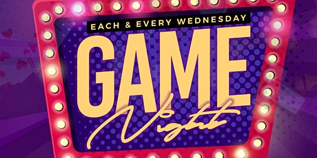 All New Game Night at Amsterdam Wednesdays tickets