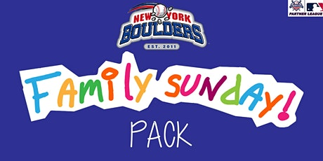 New York Boulders Family Sunday Pack tickets