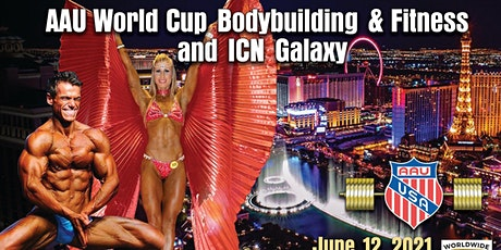 AAU World Cup, AAU National Deadlift & ICN Glaxy tickets