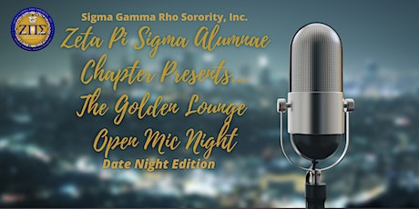 The Golden Lounge Open Mic Night : Date Night Edition tickets