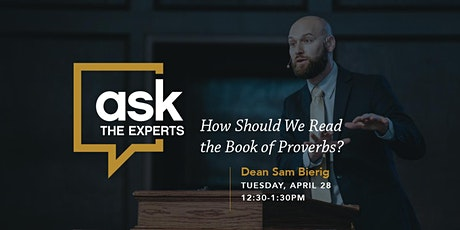 Ask The Experts with Samuel Bierig tickets