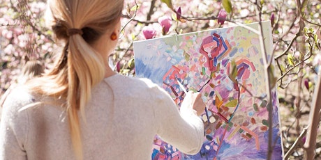 Copy of Art on the Patio - Let's Paint ! Blossoms tickets