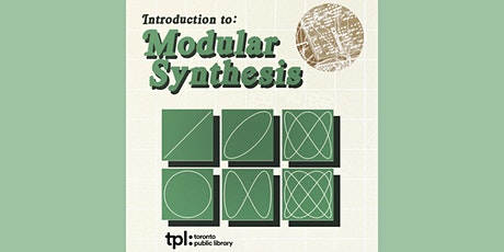Introduction to Modular Synthesis:SuperCollider tickets