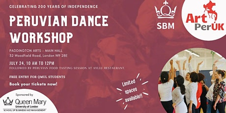 PERUVIAN DANCE WORKSHOP tickets