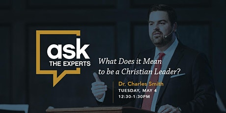 Ask The Experts with Charles Smith tickets