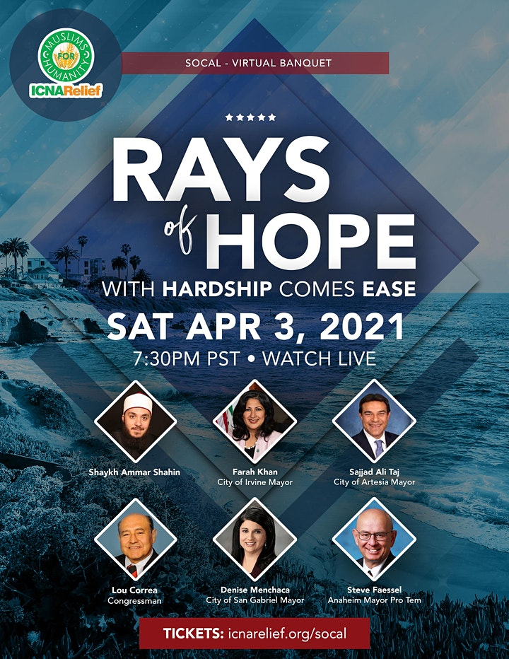 Rays  of Hope:  With Hardship Comes Ease - SoCal image