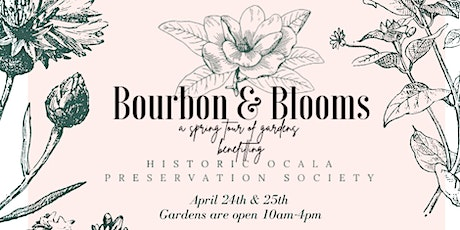 Bourbon & Blooms: A Spring Tour of Gardens, Presented by The Yard Stop tickets
