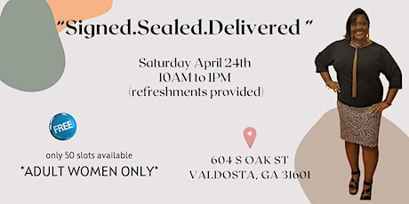 """Signed.Sealed.Delivered"" Divorce Workshop tickets"