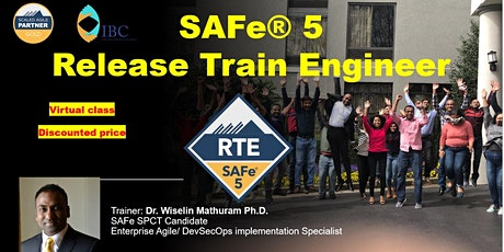 SAFe® 5 Release Train Engineer (RTE)-Weekday Evening class tickets