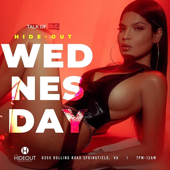 Wednesday Happy Hour & Late Night At The Hideout image