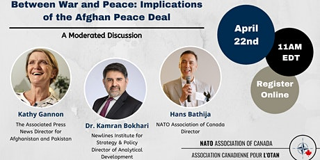 Between War and Peace: Implications of the Afghan Peace Deal tickets