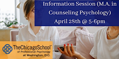 Information Session (M.A. in Counseling Psychology) tickets