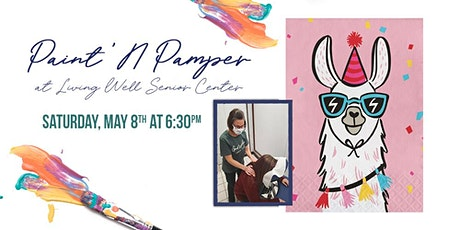 Paint 'N Pamper - Party Lama Painting & Massage Day! boletos