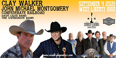 Country Legends 2021 at the West Liberty Labor Day Festival tickets