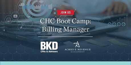 CHC Boot Camp: Billing Manager tickets
