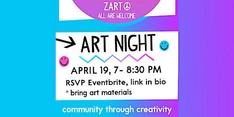 Art Night, April 19 tickets