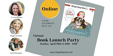 King's Day Out ~ The Car Wash Book Launch Party (ONLINE) tickets