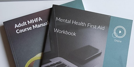 Mental Health First Aid- become a First Aider! tickets