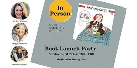 King's Day Out ~ The Car Wash Book Launch Party (IN PERSON) tickets