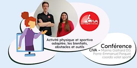 Activité physique et sportive adaptée; les bienfaits, obstacles et outils billets