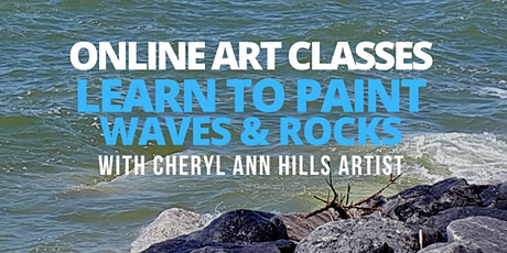 Learn to Paint Waves and Rocks tickets