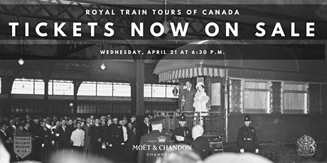 Online Lecture: Royal Train Tours of Canada tickets