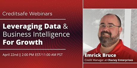 Webinar: Leveraging Data & Business Intelligence For Growth tickets