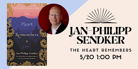 An Afternoon with Jan-Philipp Sendker tickets