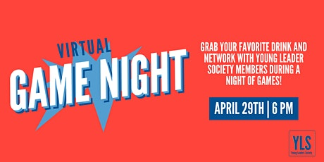 Young Leaders Society Virtual Game Night tickets
