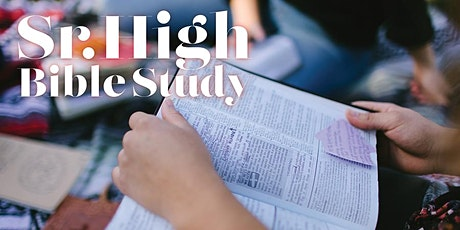 Sr. High Youth Bible Study tickets