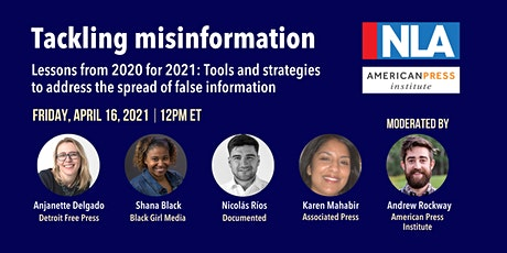 Tackling misinformation: Lessons from 2020 for 2021 tickets