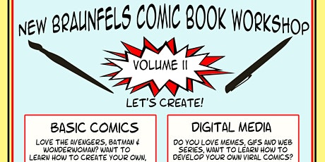 NB Comic book workshop: The Basics tickets