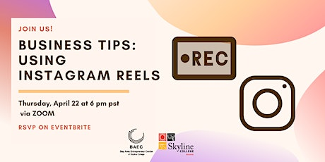 Business Tips: Using Instagram Reels tickets