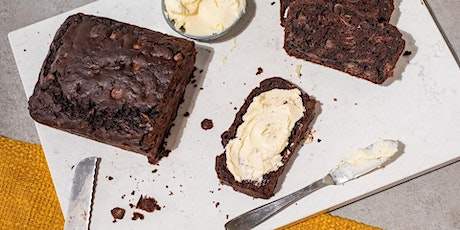 FREE Cook-Along: No Waste Double Chocolate Zucchini Bread + Whipped Butter tickets