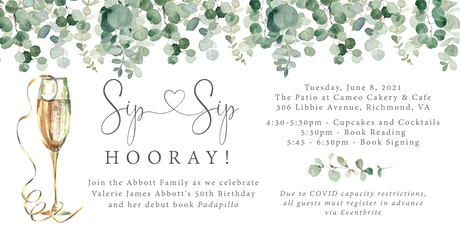 Sip Sip Hooray! Valerie's 50th Birthday and Debut Book Celebration tickets