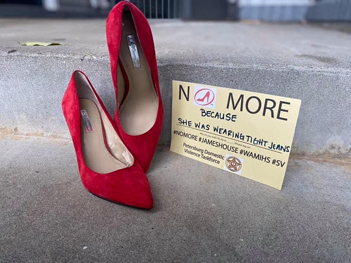 Walk a Mile in Her Shoes, virtual style image