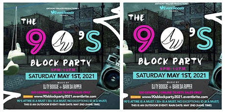 The 90s Block Party tickets