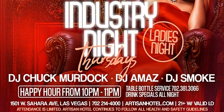 Industry Night | Ladies Night @ Artisan tickets