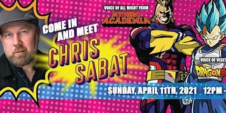 Meet Christopher Sabat  (Vegeta/ All Might) tickets