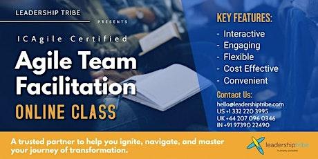 Agile Team Facilitation (ICP-ATF)   Part Time - 220621- UK tickets