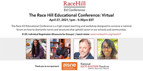 The Race Hill Ed Conference: A National Gathering on Race & Education tickets