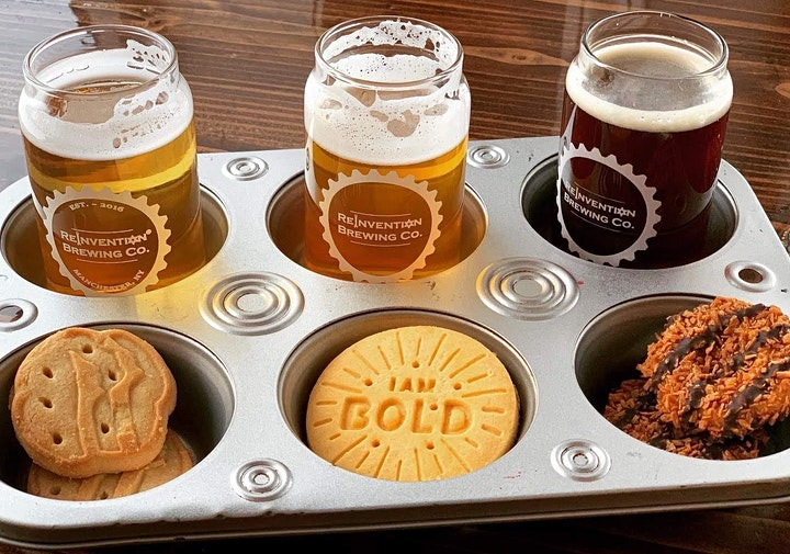 Girl Scout Cookie and Beer Pairing image