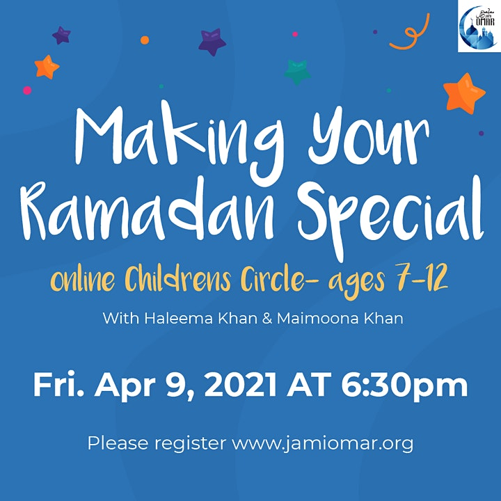 Making Your Ramadan Special (Ages 7 - 12) image