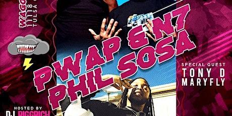 N7 & PWAP / PHIL SOSA LIVE IN TULSA, OKLAHOMA tickets